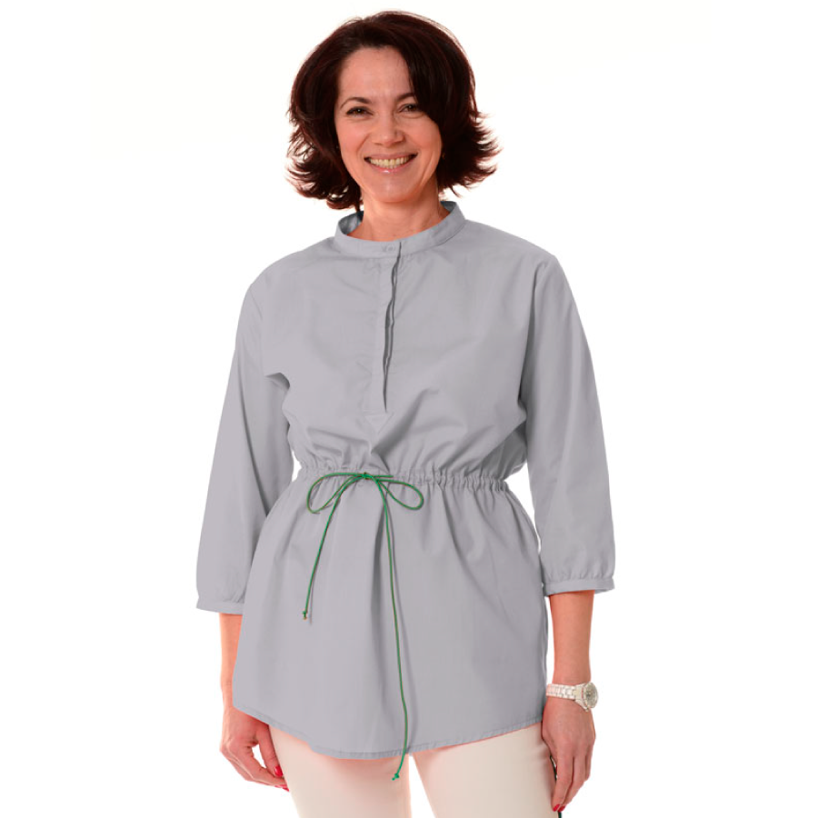 Embroidered-Medical-Tunic-Andromeda-Grey