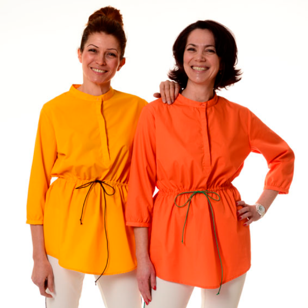 Embroidered-Medical-Tunic-Andromeda-Orange-Yellow
