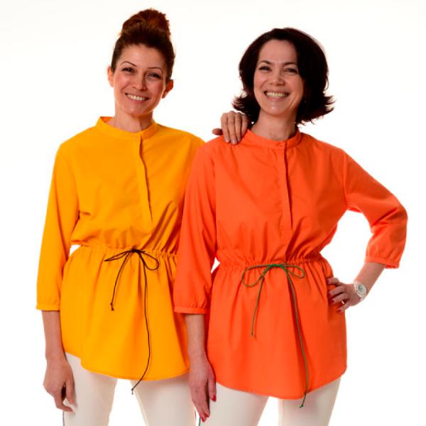 Embroidered-Medical-Tunic-Andromeda-Orange-Yellow