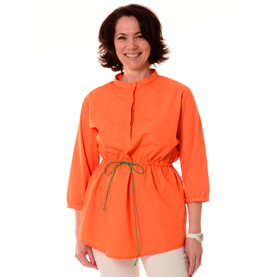 Embroidered-Medical-Tunic-Andromeda-Orange