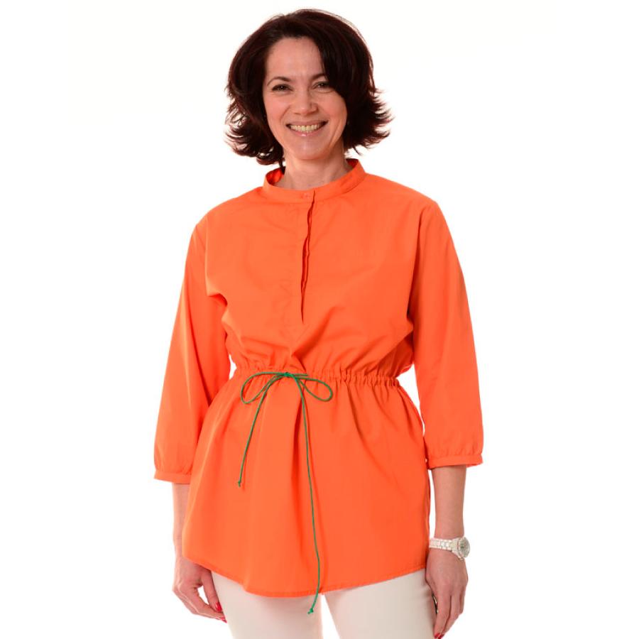 Embroidered-Medical-Tunic-Andromeda-Orange