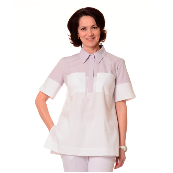 Ladies-Shirt-for-Work-Fornax-White-Lilac-1