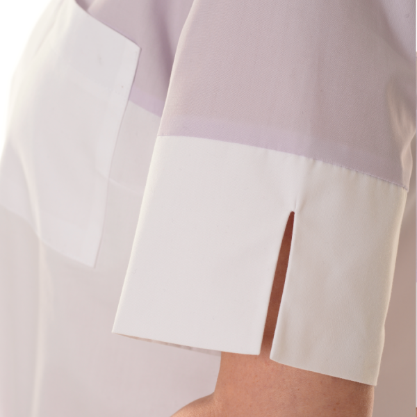 Ladies-Shirt-for-Work-Fornax-White-Sleeve