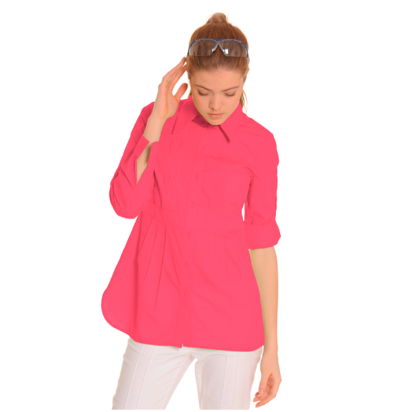 Ladies-Shirt-for-Work-Lacerta-Coral-1