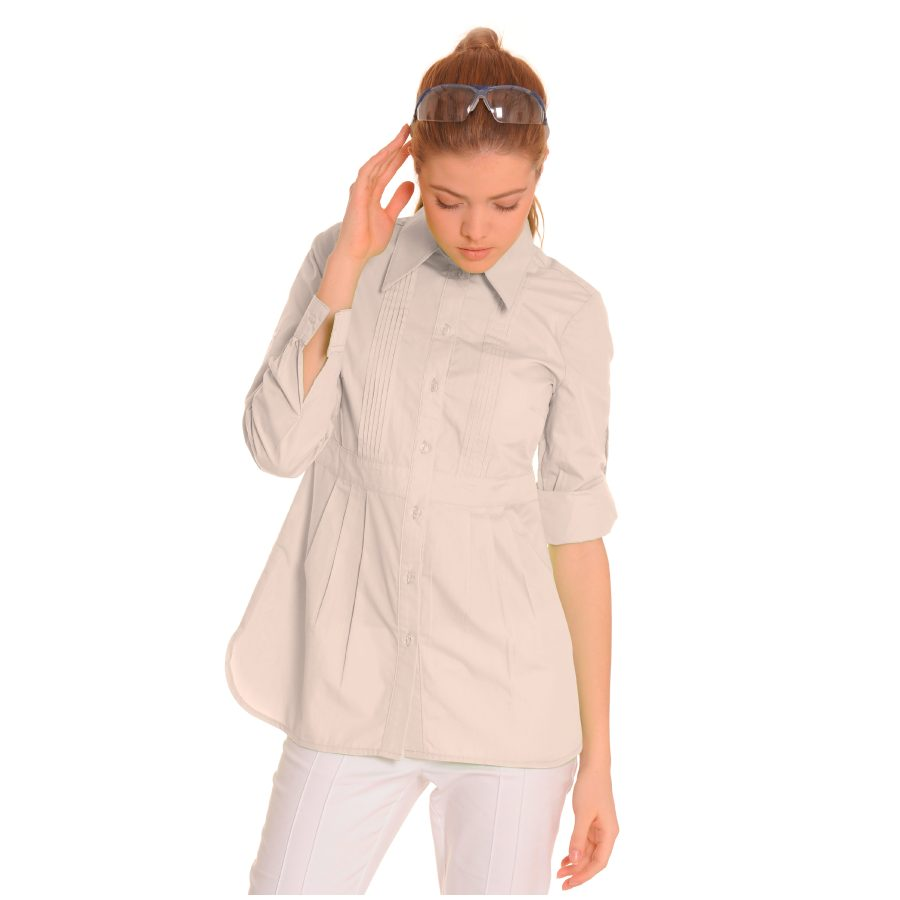 Ladies-Shirt-for-Work-Lacerta-Stone-1