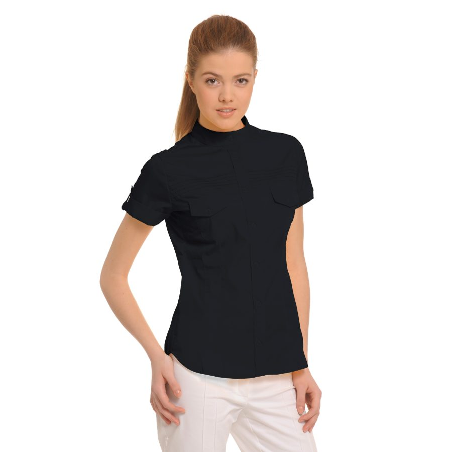 Ladies-Shirt-for-Work-Tucana-Black