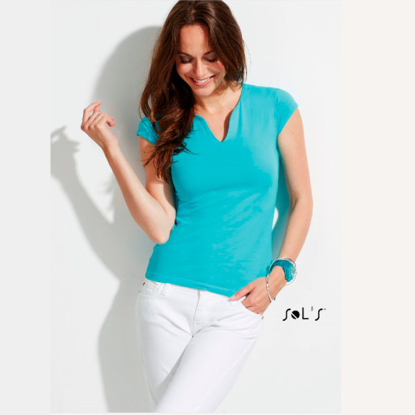 Ladies'-T-Shirt-Mint_Aqua
