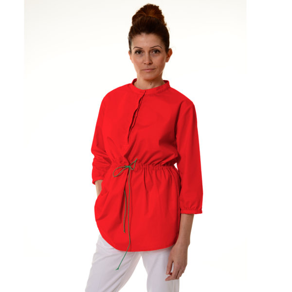 Ladies-Tunics-for-Work-Andromeda-Red