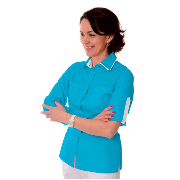 Ladies-Work-Shirt-Onda-Blue-1