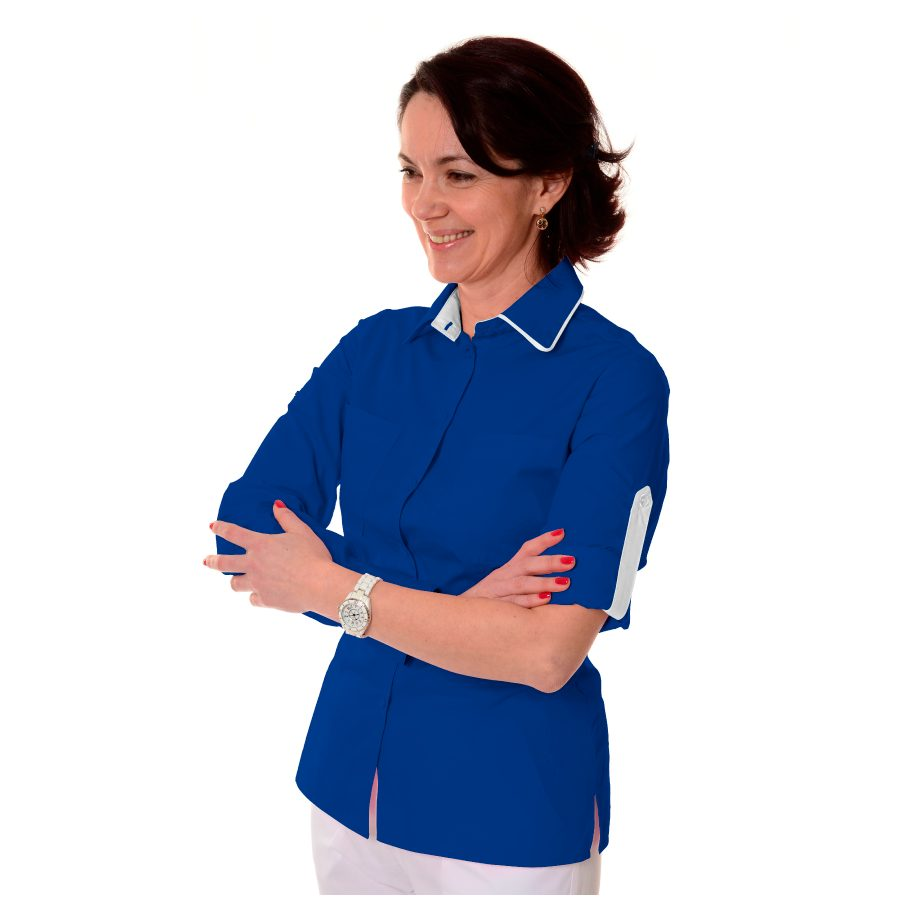 Ladies-Work-Shirt-Onda-Royal-Blue-1