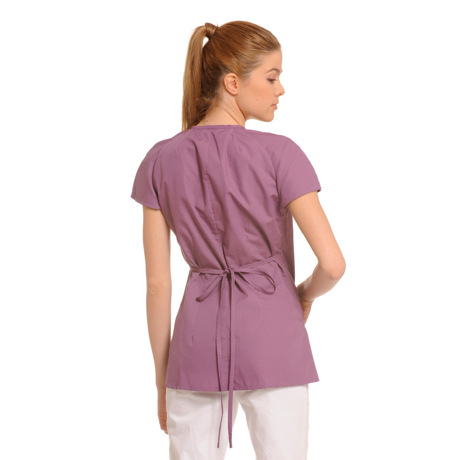 Medical-Tunic-Ara-Lilac-Back