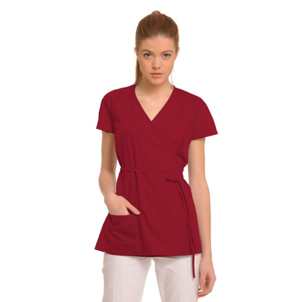 Medical-Tunic-Ara-Red