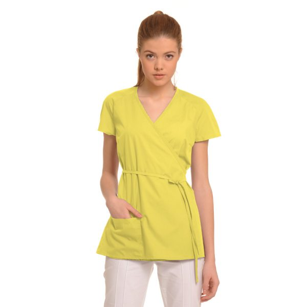 Medical-Tunic-Ara-Yellow