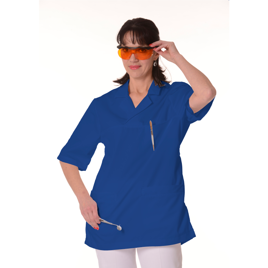 Medical-Tunic-Dorado-Women-Blue