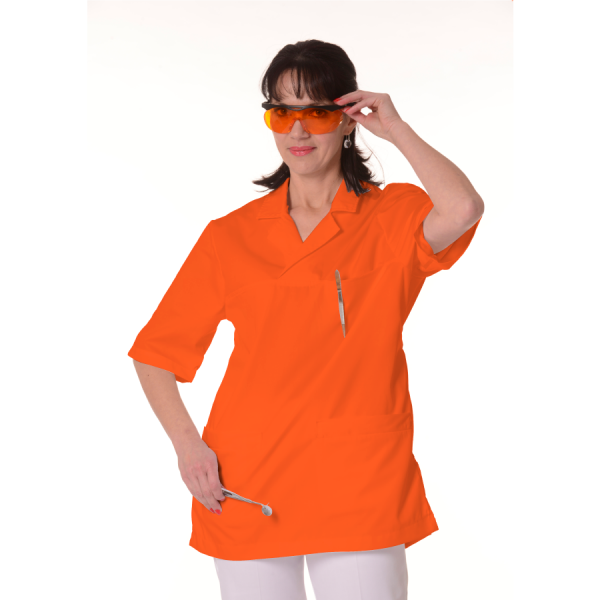Medical-Tunic-Dorado-Women-Orange