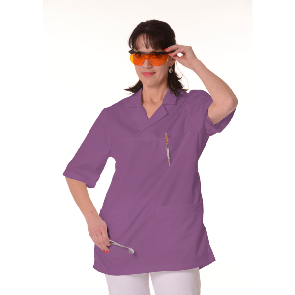 Medical-Tunic-Dorado-Women-Purple