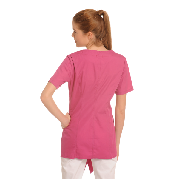 Medical-Tunic-Lira-Pink-Back
