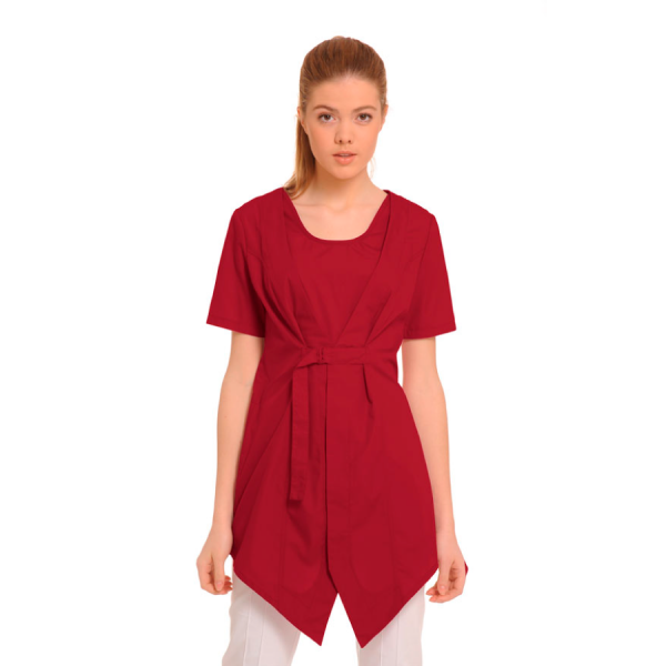 Medical-Tunic-Lira-Red