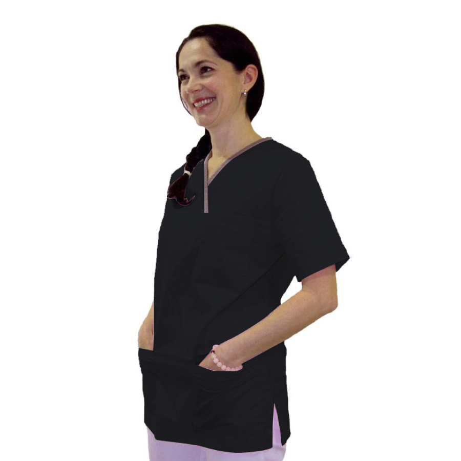 Medical-Tunic-Lupus-Black