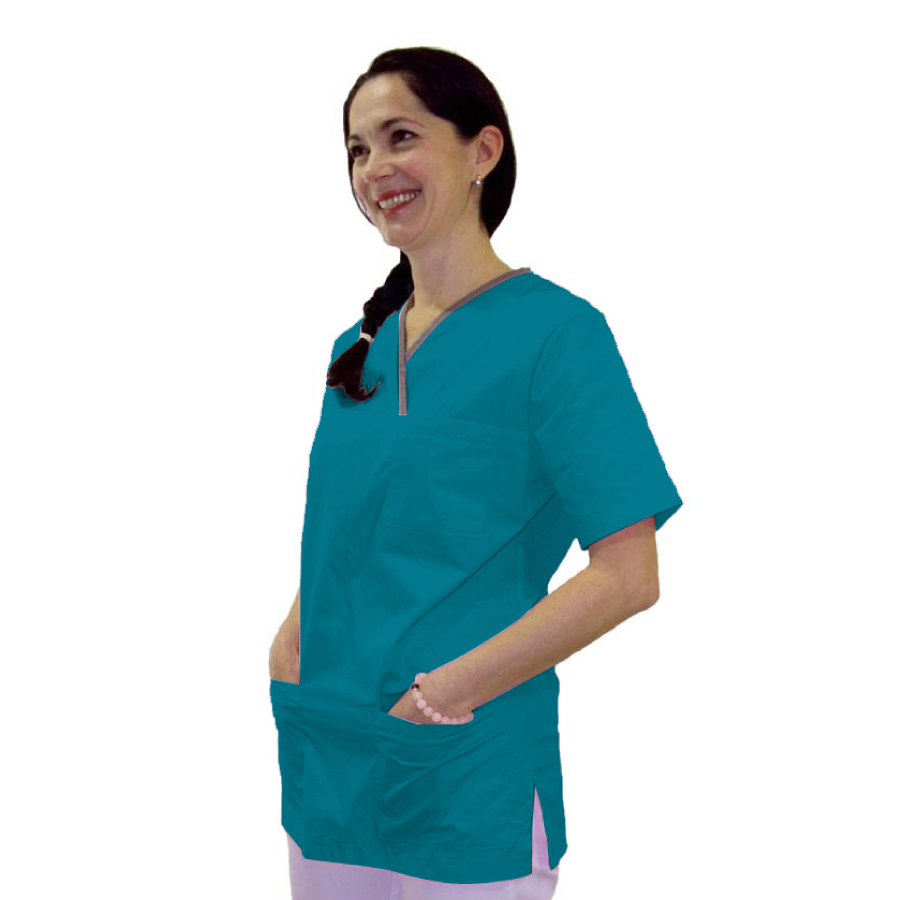 Medical-Tunic-Lupus-Petrol