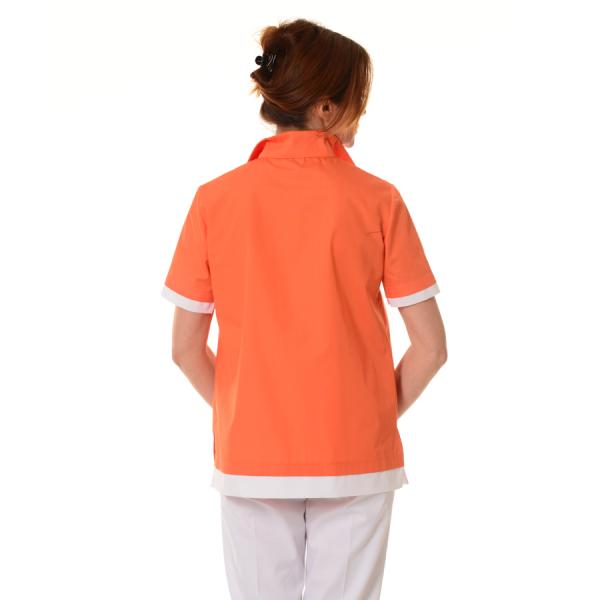 Medical-Tunic-Puppis-Orange-Back