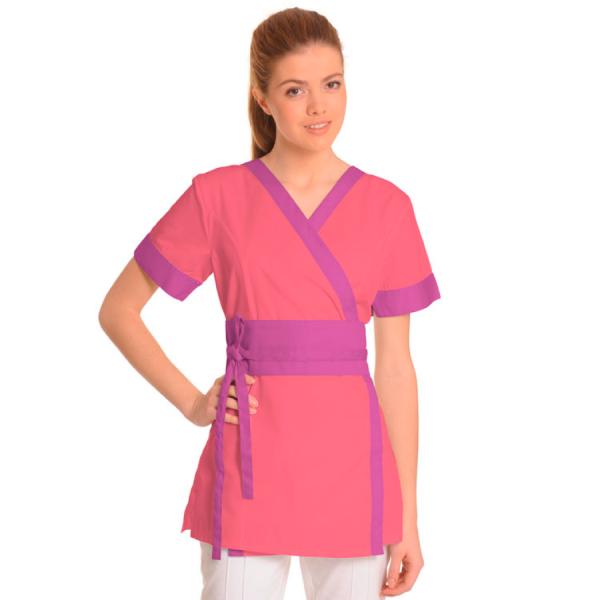 Medical-Workwear-Tunics-Vela-Coral-Purple