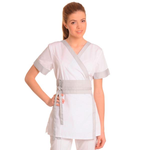 Medical-Workwear-Tunics-Vela-White