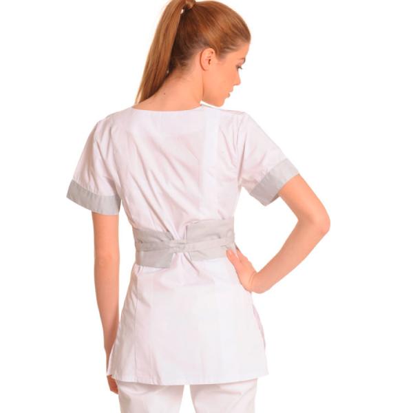 Medical-Workwear-Tunics-Vela-White-Back