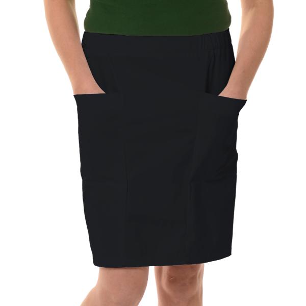 Womens-Work-Skirt-Mensa-Black
