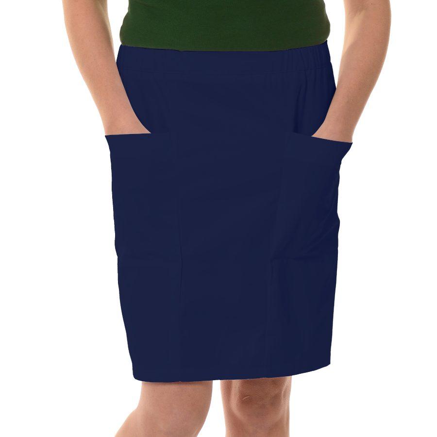 Womens-Work-Skirt-Mensa-Blue