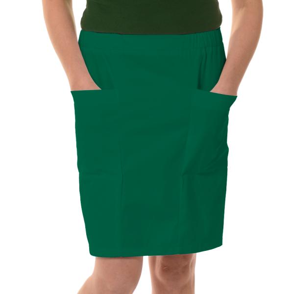 Womens-Work-Skirt-Mensa-Green