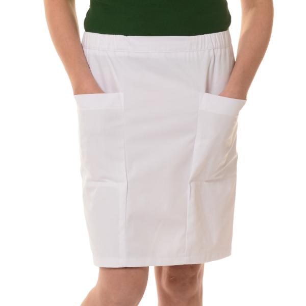 Womens-Work-Skirt-Mensa-White