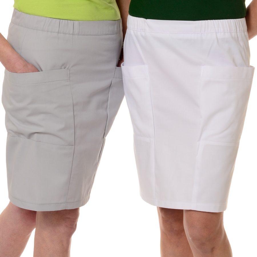 Womens-Work-Skirt-Mensa-White-Grey