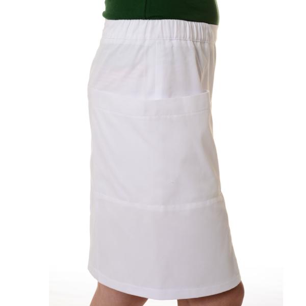 Womens-Work-Skirt-Mensa-White-Side
