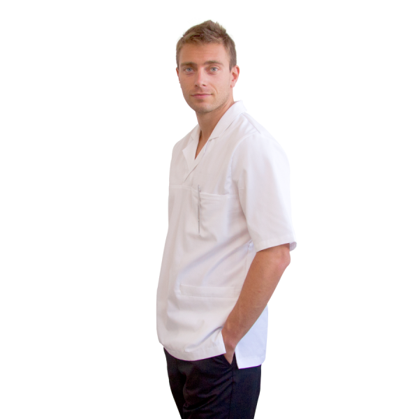 Work-Tunics-for-men-Dorado-white