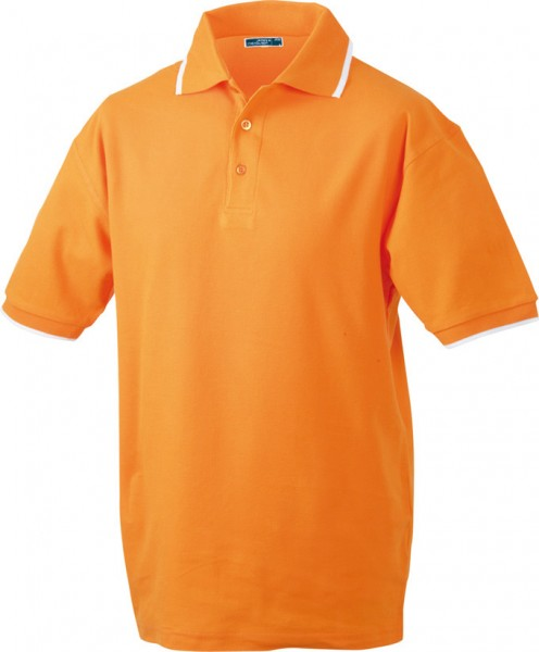 Mens-Work-Polo-Shirt-JN034-orange