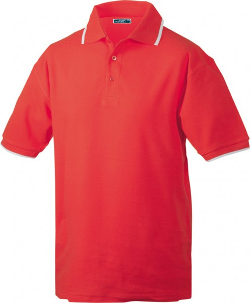 Mens-Work-Polo-Shirt-JN034-red