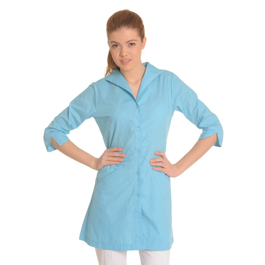 Lab-Coat-for-Women-Hydra-Blue