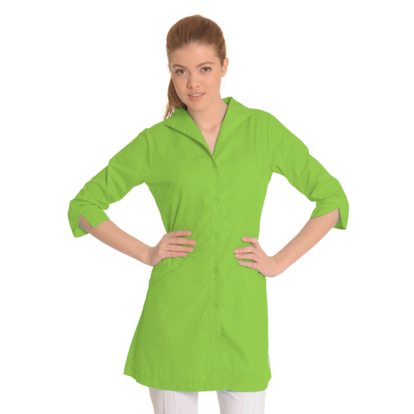 Lab-Coat-for-Women-Hydra-Green
