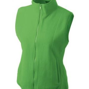 Ladies-Fleece-Gilet-JN048-lime-green-1