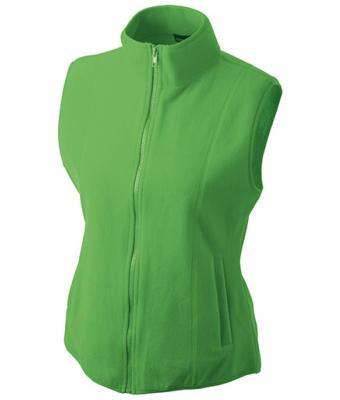 Ladies-Fleece-Gilet-JN048-lime-green-1