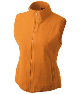 Ladies-Fleece-Gilet-JN048-orange-1