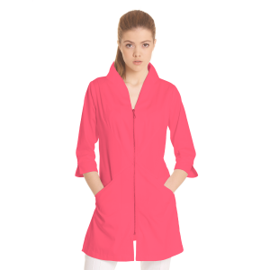 Ladies-white-coat-Norma-Coral