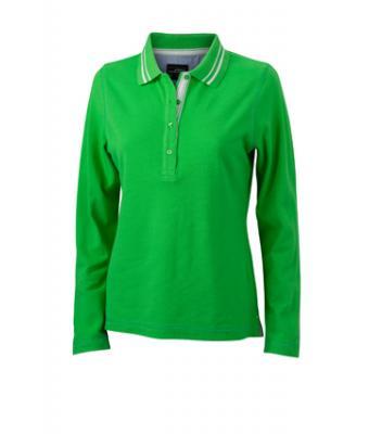 Longsleeve-Polo-Shirt-Green-JN-967-1