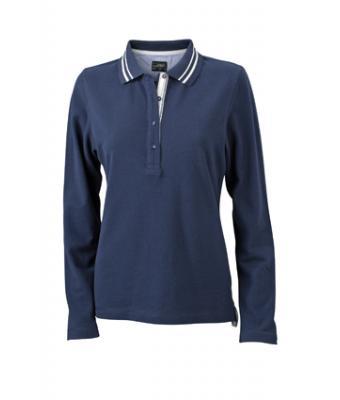 Longsleeve-Polo-Shirt-Navy-JN-967-1