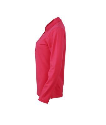 Longsleeve-Polo-Shirt-Pink-JN-180-3