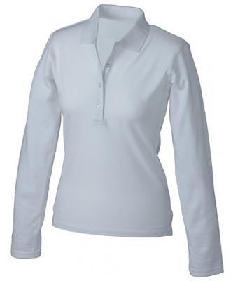 Longsleeve-Polo-Shirt-White-JN-180-1