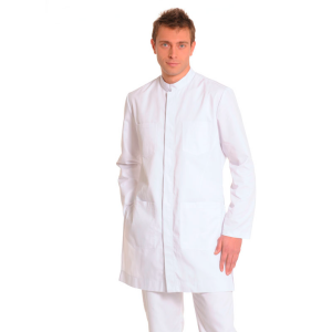 Men's-White-Coat-INDUS-White