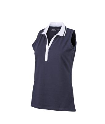 Sleeveless-Polo-Shirt-Navy-T-Shirt-JN-159-1