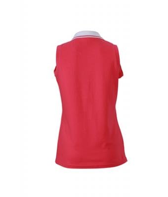 Sleeveless-Polo-Shirt-Pink-T-Shirt-JN-159-2